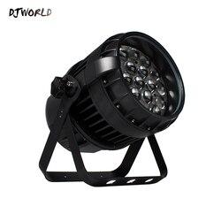 Djworld IP67 na zewnątrz wodoodporny 19X12W RGBW Zoom lampa PAR najlepsze dla basen fontanny wody W stawie ogród akwarium cichy w Oświetlenie sceniczne od Lampy i oświetlenie na