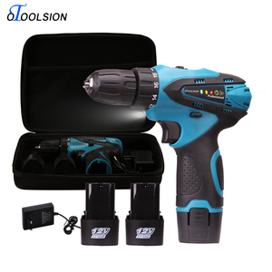 Image 5 - 12V Electric Tools 1.5 Ah Lithium Ion Battery Screwdriver 18+1 Torque Cordless Drill Electric Drill For Drilling in Ceramic Wood