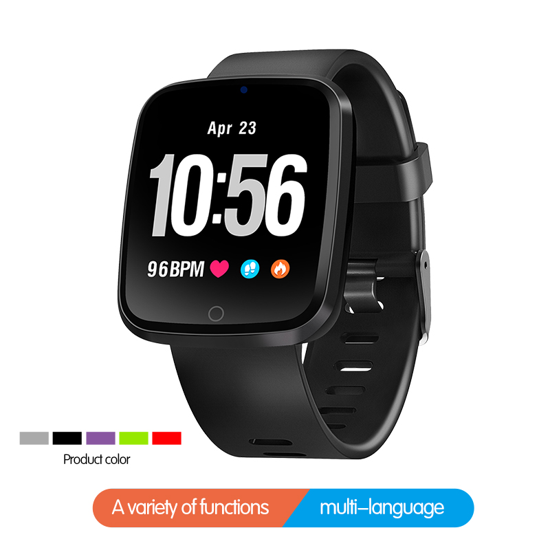 Neue Smart Uhr <font><b>IP68</b></font> Wasserdichte Bluetooth <font><b>SmartWatch</b></font> Herz Rate Monitor Fernbedienung Kamera Für iPhone Android Telefon Elektronik Smart image