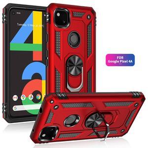 For Google Pixel 4A 5 XL Case Luxury Car Magnetic Ring Armor Phone Case for Google Pixel 3A XL 4 XL Stand Holder Back Cover