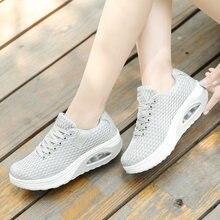 Женские теннисные туфли женские кроссовки на платформе дышащая