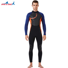 цена на 3MM Men Women Neoprene One Piece Wetsuit Long Sleeve Full Body Warm Rashguard Diving Swimming Scuba Sailing Clothing Plus Size