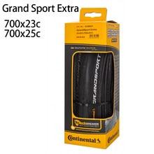 Continental gran deporte Extra neumático de bicicleta de carretera neumático plegable 700x23c 700 * 25C