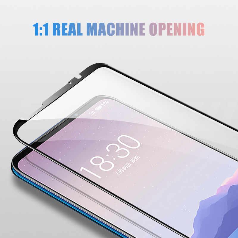 Cubierta completa 9D vidrio templado para Meizu 16 th Plus 16X16 S 16XS Protector de pantalla para Meizu M8 X8 Note 8 9 Pro 7 Plus película de seguridad