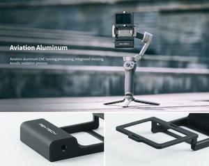 Image 2 - PGYTECH Caméra DACTION Adaptateur + pour Mobile Cardan pour Gopro Hero7 6 5 Osmo Daction DJI osmo Mobile 3 planche rabotée 4 Caméra Accessoires