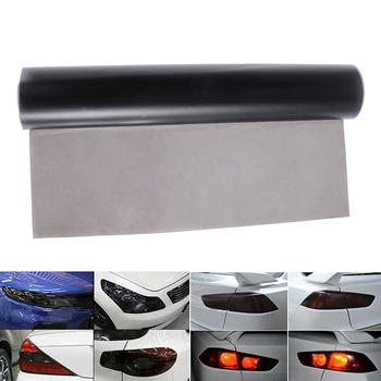 Car SUV Tailight Headlight Gloss Tint Vinyl Wrap Film Sheet Light Cover Car Headlight Film 30cm*60cm image