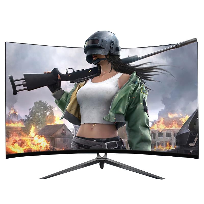 240 HZ Monitor PC 32 zoll 1MS HD Gaming Monitor IPS LCD Display HDMI Monitoren Gebogene Bildschirm computer Monitore für desktop