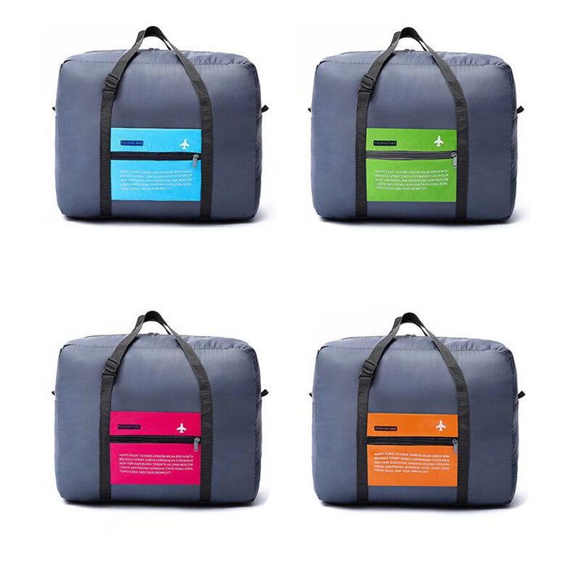High Capacity Aircraft Organizer Travel Bag Women's Foldable Weekend Bag Personal Clothing Luggage Bag Travel Accessories