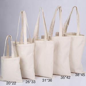 1PC High-Quality Women Men Handbags Canvas Tote bags Reusable Cotton grocery High capacity Shopping Bag