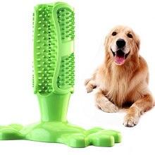 Cão de brinquedo do cão mastigar brinquedos escova de dentes do cão pet molar limpeza do dente vara de escovação doggy filhote de cachorro dental cuidado do cão suprimentos para animais de estimação