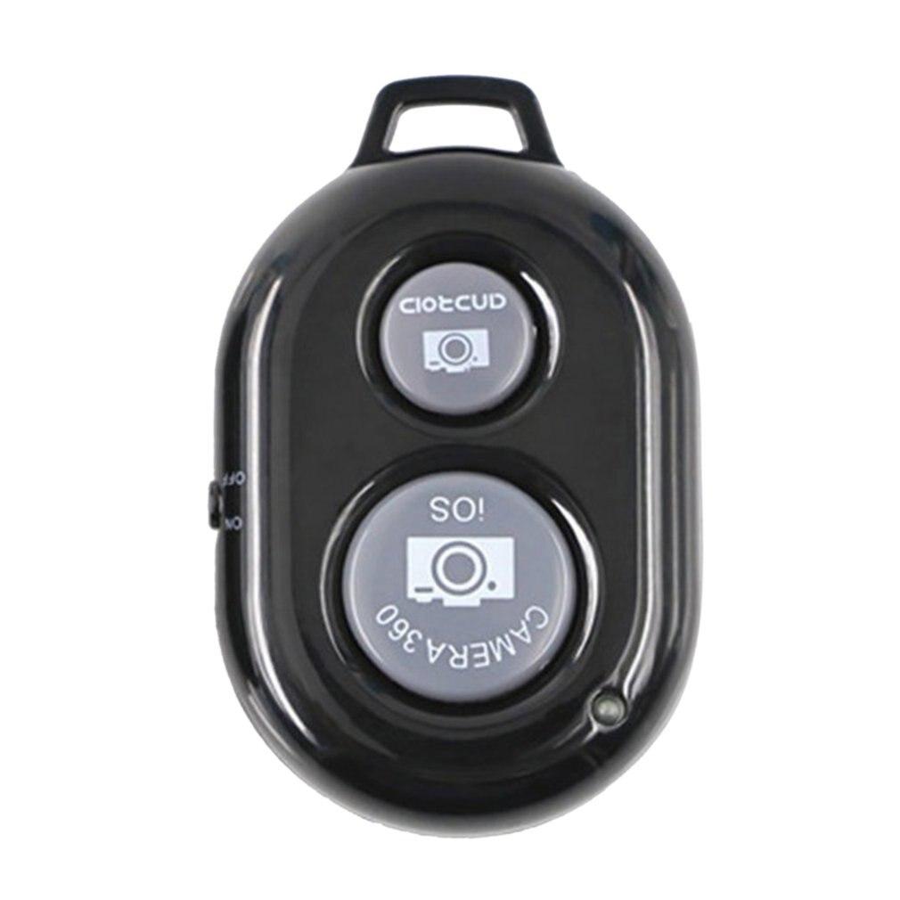 Беспроволочная кнопка спуска затвора для телефона с автоспуском для селфи палка спуска затвора беспроводной пульт дистанционного управле...