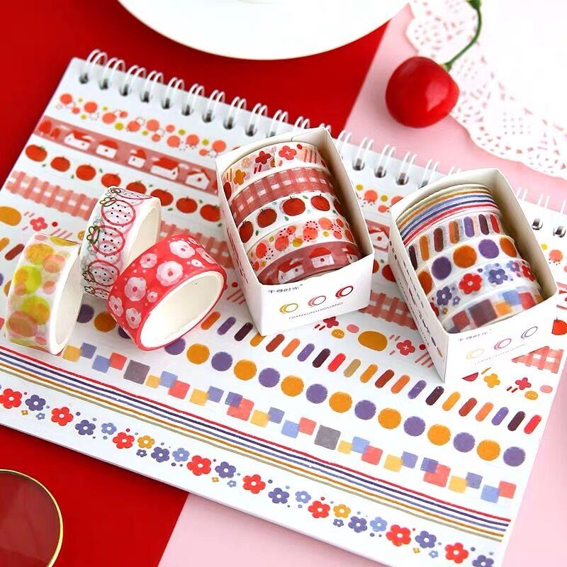 fita adesiva basica decorativa para caderno 01