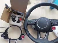Botón de inicio de parada de motor R8 integrado, interruptor de modo de conducción para volante deportivo MQB