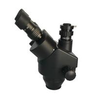 3.5X-180X Double Boom Simul Focal trinocular stereo Microscope Industrial Soldering 38MP HDMI USB microscopio video camera tools