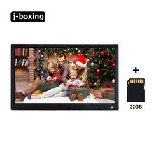Цифровая фоторамка 156 дюйма 1080p фото с автоматическим вращением