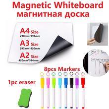Магнитная белая доска для стирания и Белая магнитная холодильника