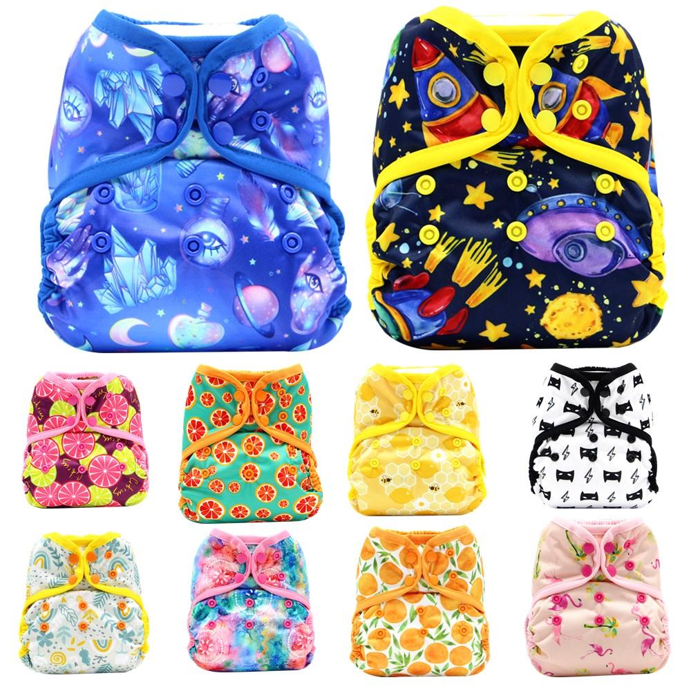 Asenappy двойные вставки новые детские один размер Многоразовые вкладыши для тканевых подгузников крышка Обёрточная бумага для Применение с п...