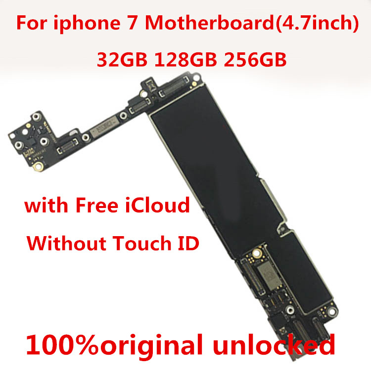 iPhone 32GB for Without Touch-Id Free-Icloud Gift Unlocked 7--Tool 100%Original