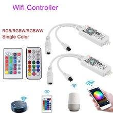 Magic Home RGB Led Wifi Controller RGBW RGBWW Bluetooth WiFi LED controller DC5V 12V 24V For 5050 2835 led strip Magic Home