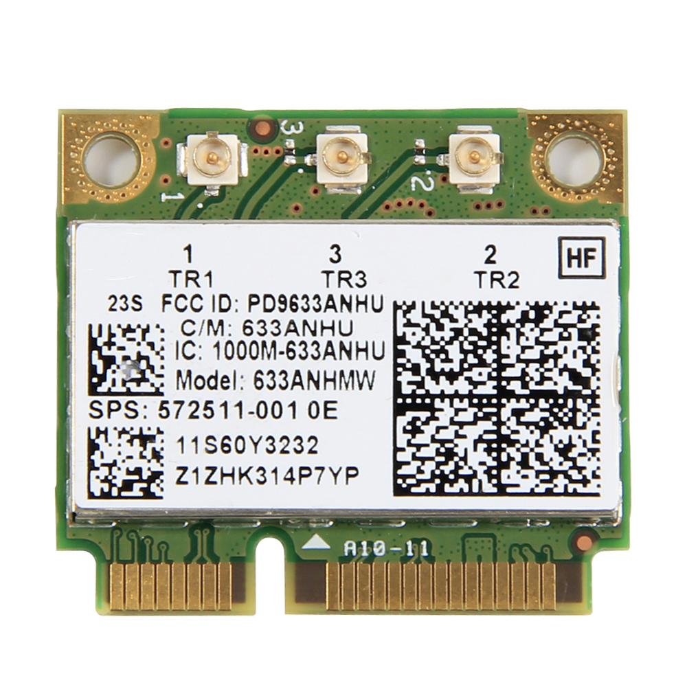 Dual band 450Mbps 633ANHMW Mini PCI-E Wireless Wifi Network Card for Intel 6300 6300AGN 802.11a/g/n Lenovo Thinkpad/HP laptop(China)