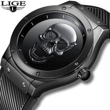 Relogio Masculino LIGE Mens Watches New