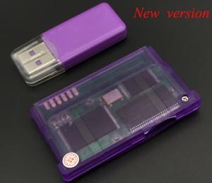 Image 2 - Yeni sürüm desteği TF kartı için GameBoy Advance oyun kartuşu için GBA/GBM/IDS/NDS/NDSL