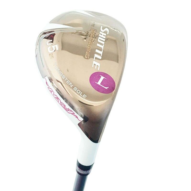 New Women Golf Wood Maruman SHUTTLE Hybrids Clubs U5/25 Loft Golf Clubs Graphite Shaft L Flex Golf Shaft Cooyute Free Shipping