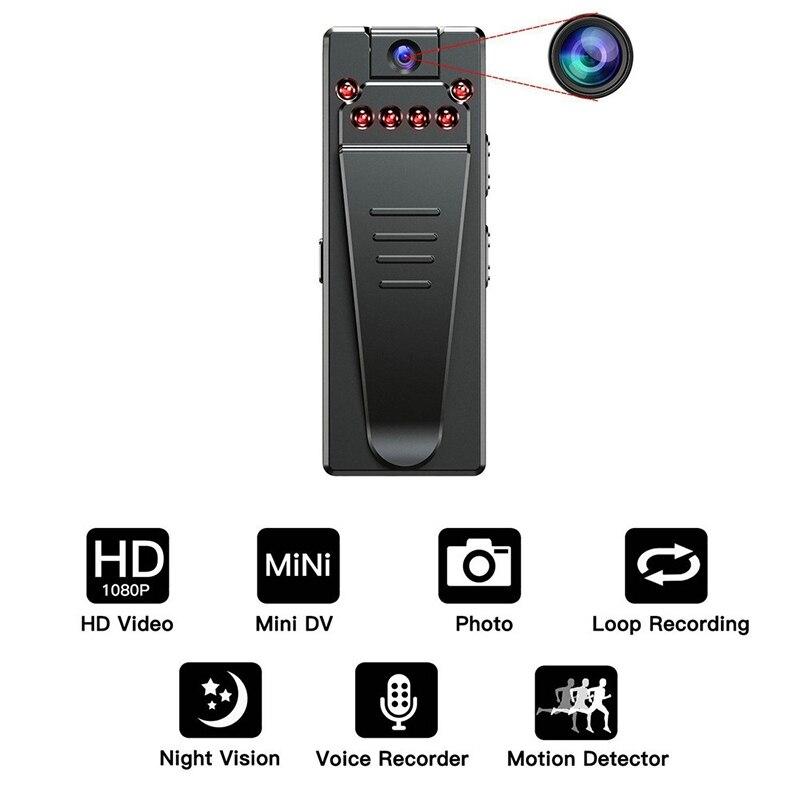 Хит A7 1080P HD мини-камера Цифровые видеокамеры DVR инфракрасный датчик движения ночного видения микро-камера