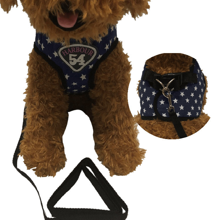 Vest Style Hand Holding Rope Pet Puppy Dog Xiong Bei Tao Hand Holding Rope Teddy VIP Small Dogs Dog Rope Dog Chain