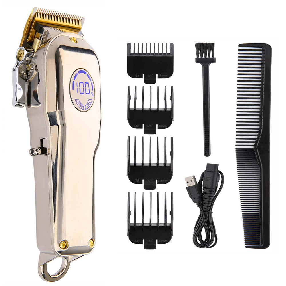 Barber Hair Clipper Trimmer Professional Haircut Hair Cutting Machine For Men Hair Cut Cordless Corded Shaving Razor Electric