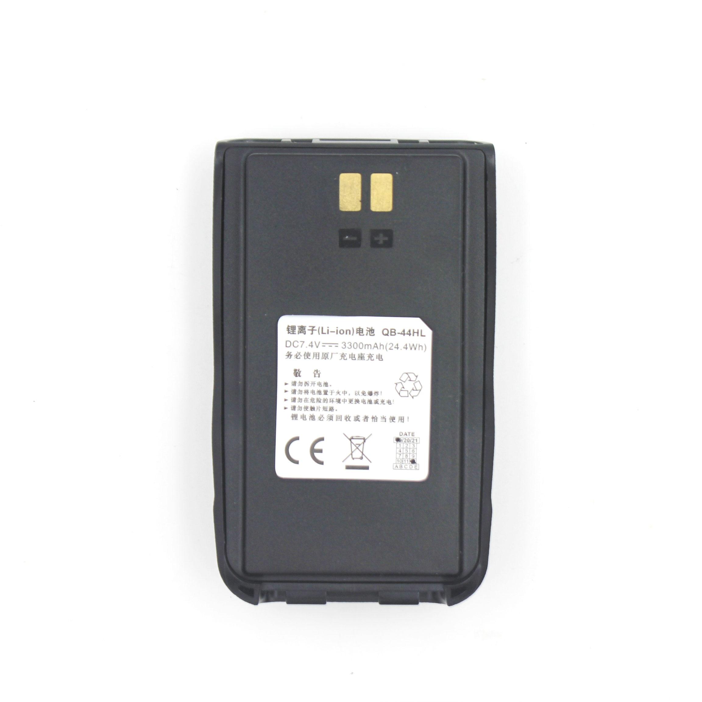 Origianal Battery Li Ion 7.4V 3300mAh For Anytone AT-D878UV Plus Walkie Talkie DMR Radio