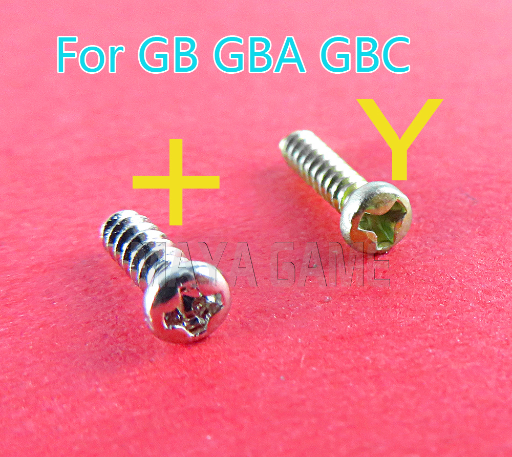 Replacement Screw For Gameboy Advance GB GBA GBC Repair Kit Full Set Cross Screws Console 30pcs/lot
