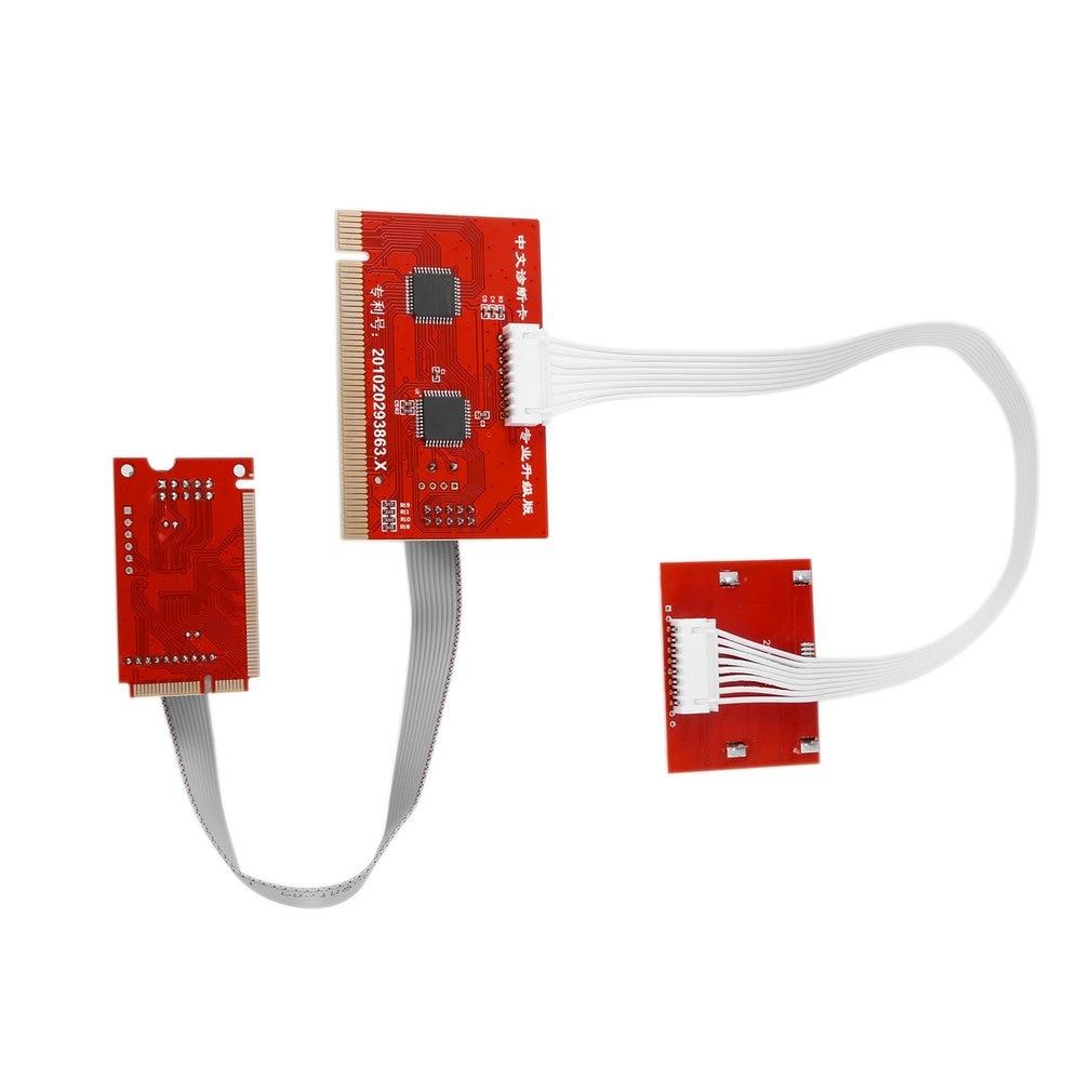 Tablet PCI Motherboard Analyzer Diagnostic Tester Post Test Card For PC Laptop Desktop PTI8