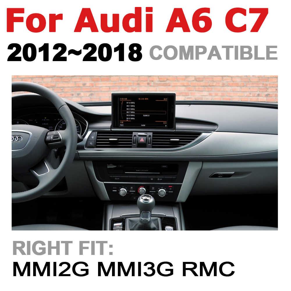 Tbbctee Cho Xe Audi A6 C7 2011 ~ 2018 AU Mmi Rmc 2 DIN Android GPS Ô Tô Chơi Mlutimedia Nghe Âm Thanh Nổi navi Điều Hướng Android Tự Động