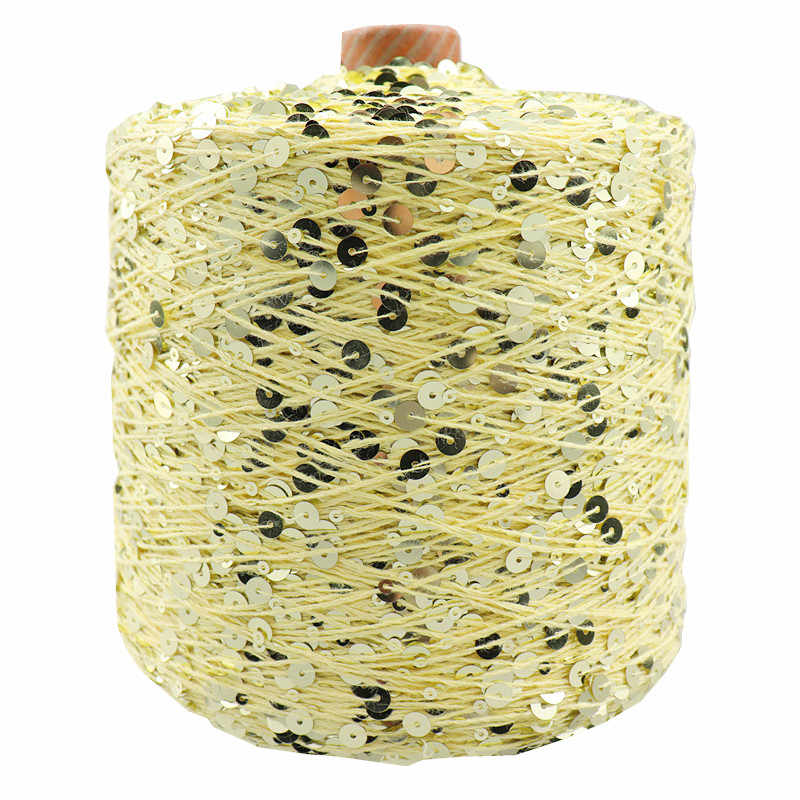 Cotton Yarn Special Sequin Garment Accessories Rag Doll Knitting Blended Yarn