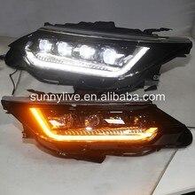 Полный светодиодный передний светильник для Toyota год Camry v55 светодиодный головной светильник LDV2