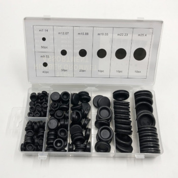 170pcs Black Rubber Grommet Kit Firewall Hole Plug Set Car Electrical Wire Gasket Kit Hardware Tool For Valve Pump Water Pipe цена 2017
