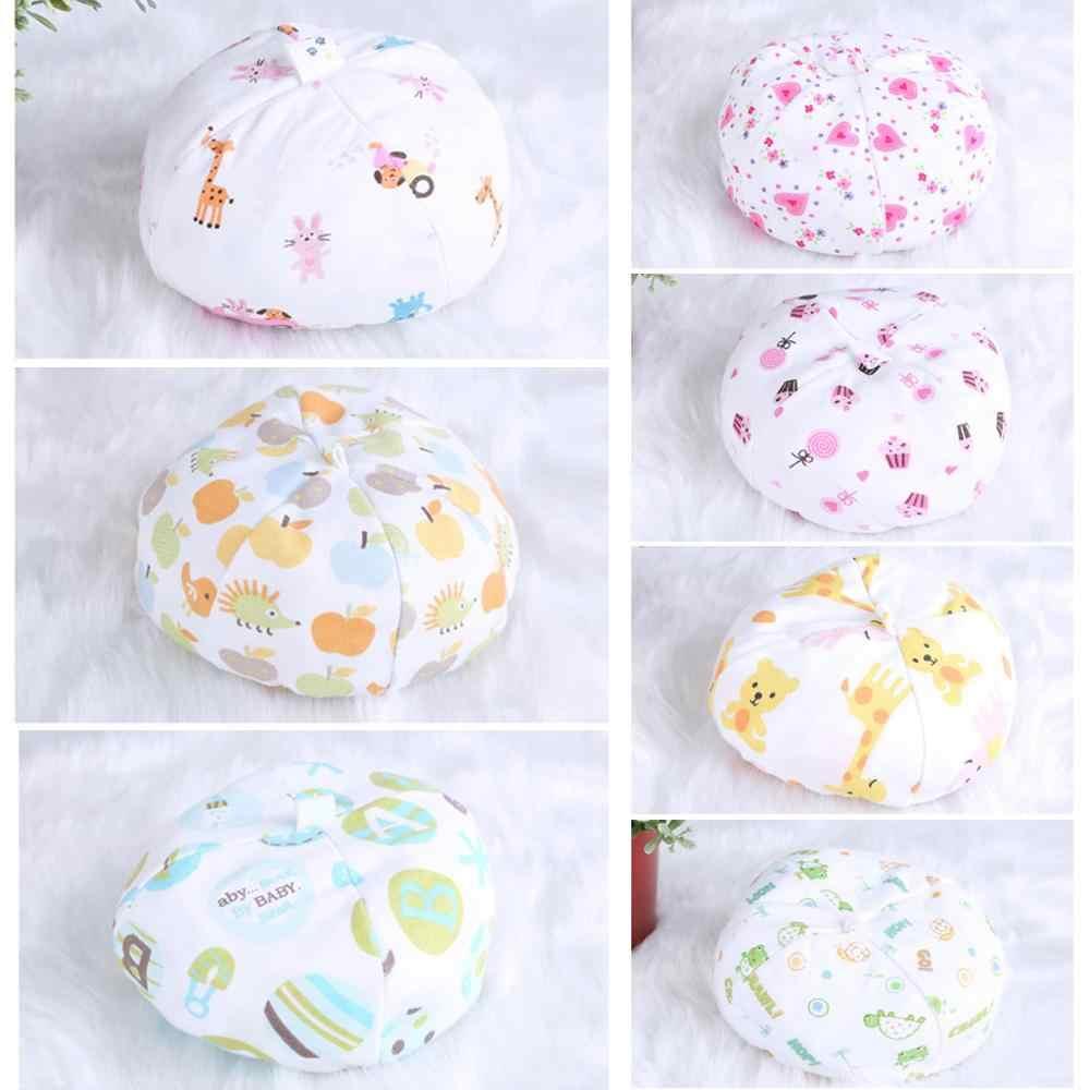 Sombreros de bebé lindo cálido suave mezcla de algodón de dibujos animados recién nacido bebé niño Unisex gorras