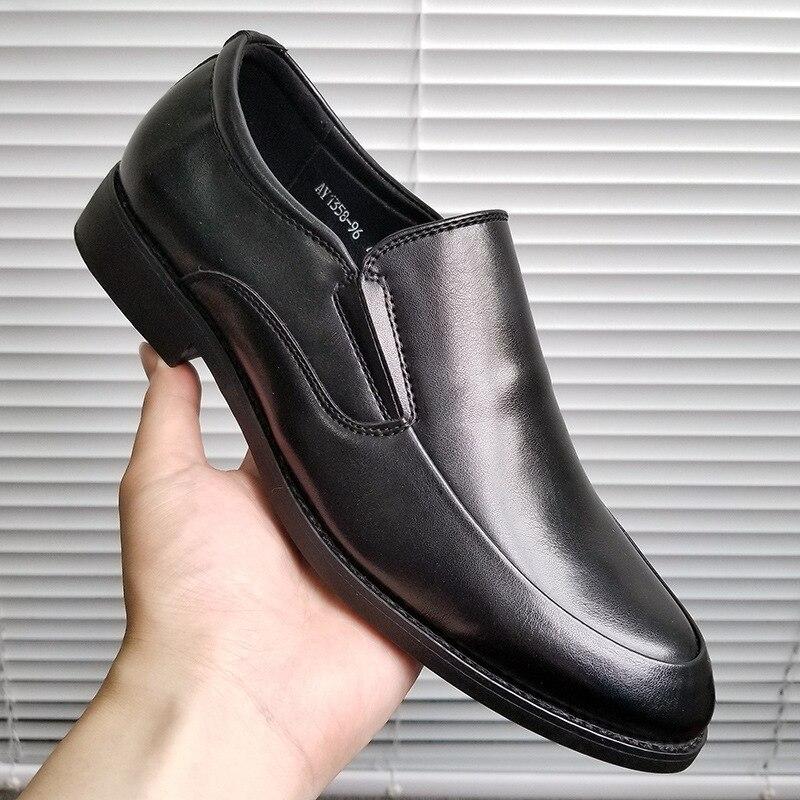 2020 Formal Shoes Men Business Men Dress Shoes Leather Men Oxford Shoes Fashion Footwear