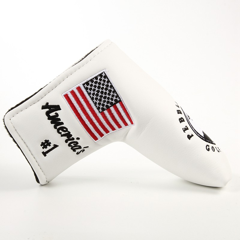 1pc Golf Blade Putter Head Covers For Golf Scotty Putter Embroidery Headcover