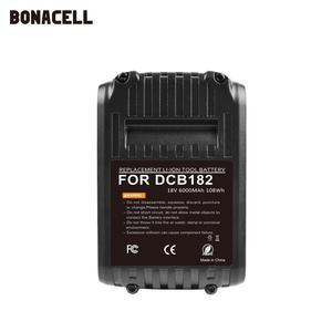 Image 2 - Bonacell 6000mAh 18V MAX XR for Dewalt Power Tool Battery for DCB180 DCB181 DCB182 DCB201 DCB201 2 DCB200 DCB200 2 DCB204 2 L50