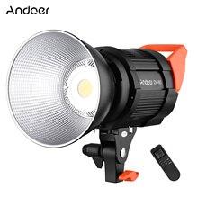 CZ Andoer DL 80 80W Video Light 5600K Daylight Dimmable COB LED Video Light CRI 95+ Bowens Mount for Video Recording Studio