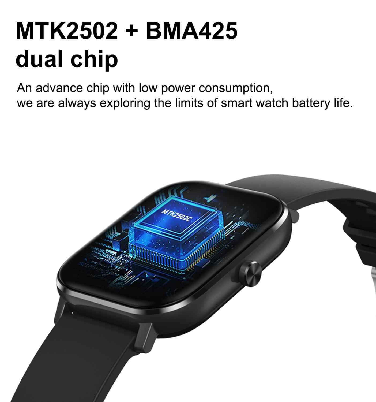 Lemfo dt35 relógio inteligente para homens mulher para amantes moda 2020 inteligente 1.54 polegada ip67 à prova dip67 água para android ios como presente