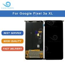 Dla Google Pixel 3a XL LCD wyświetlacz OLED ekran OLED digitizer panel dotykowy zgromadzenie dla Google wyświetlacz oryginalny