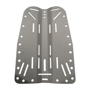 Image 2 - Lightweight Dive Backplate Scuba Diving BCD Harness Back Plate