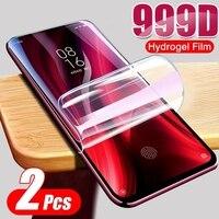 Ultra Dünnen Weichen Bildschirm Für Samsung Note 8 9 Galaxy S9 S8 A7 J6 S7 S6 A9 A8 A6 J4 rand Plus 2018 Hydrogel Bildschirm Film Schutz