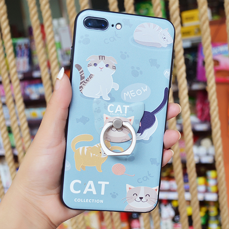 Cute Cat Phone Case Cover Iphone 6 6s