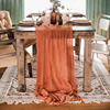 6 people standrad table decore rust table runner for party wedding decoration vintage table runner 62 x400cm