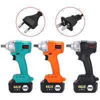 Doersupp Brushless Electric Wrench 110 240V 298VF 630NM 22800mAh Brushless Cordless Impact Wrench Power Tool with Battery|Electric Wrenches| |  -