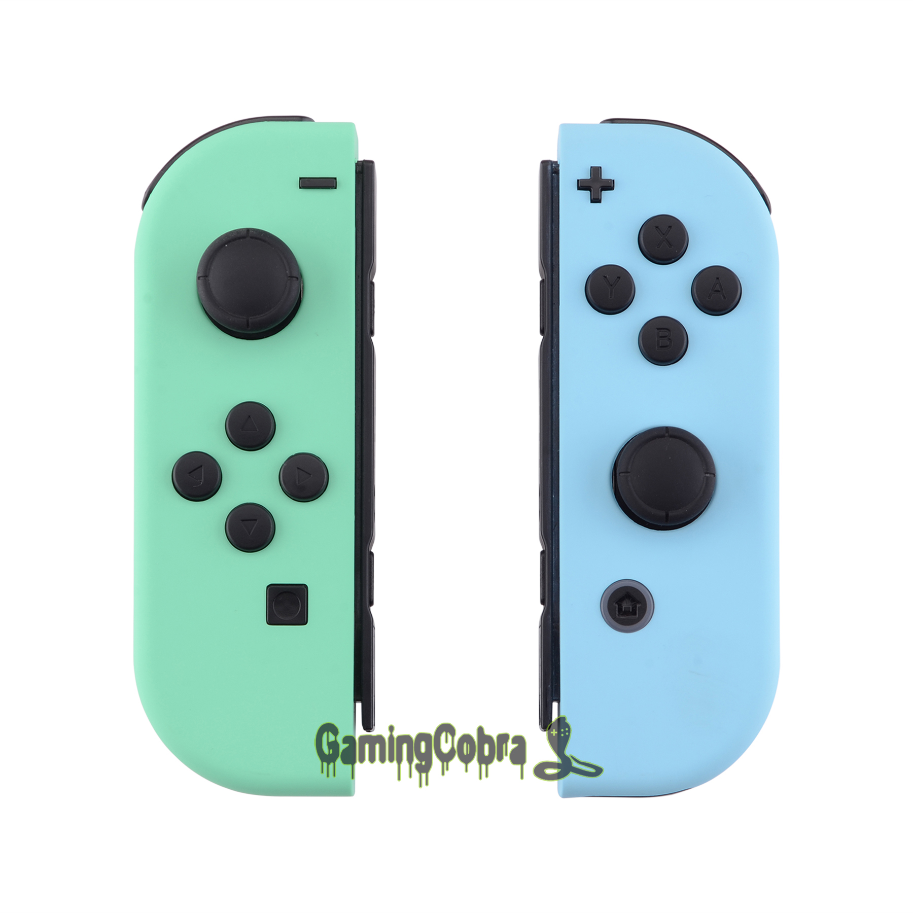 Housing Replacement-Shell Buttons Switch joy-Con Controller Nintendo with Green Full-Set